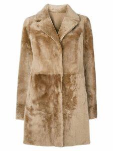 Drome fur coat - Brown