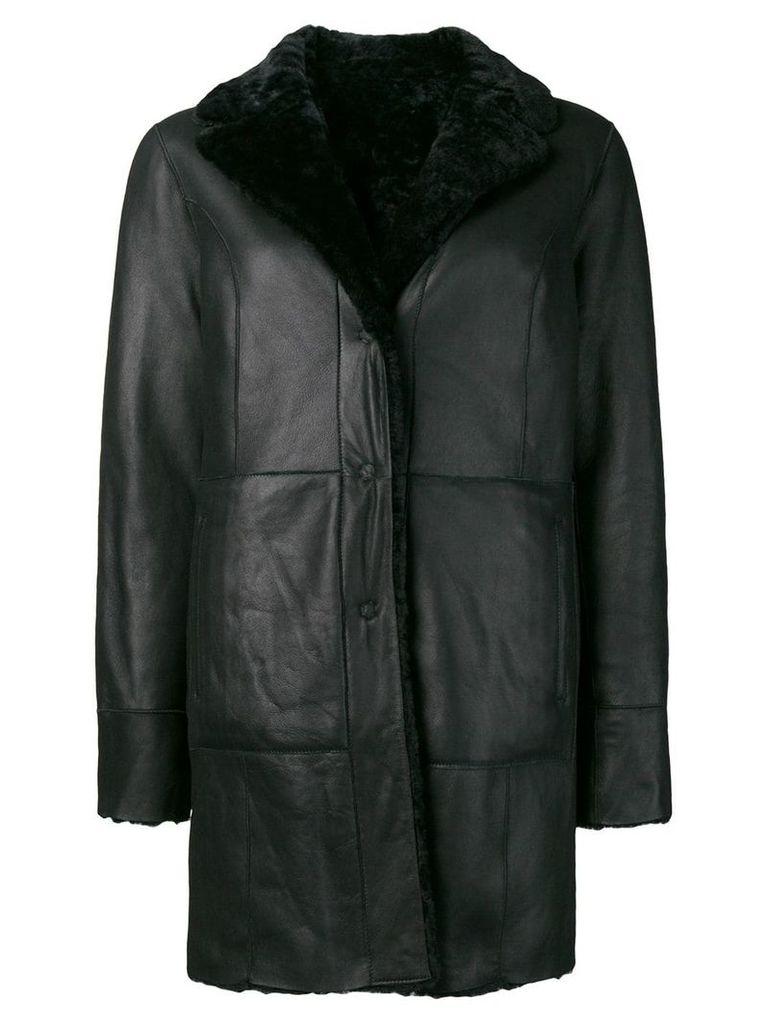 Drome fur coat - Blue