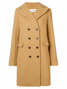 Carven double breasted coat - Neutrals