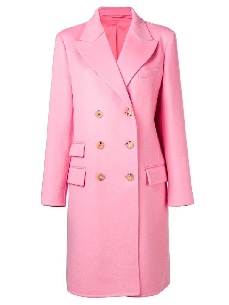 Ermanno Scervino structured coat - Pink