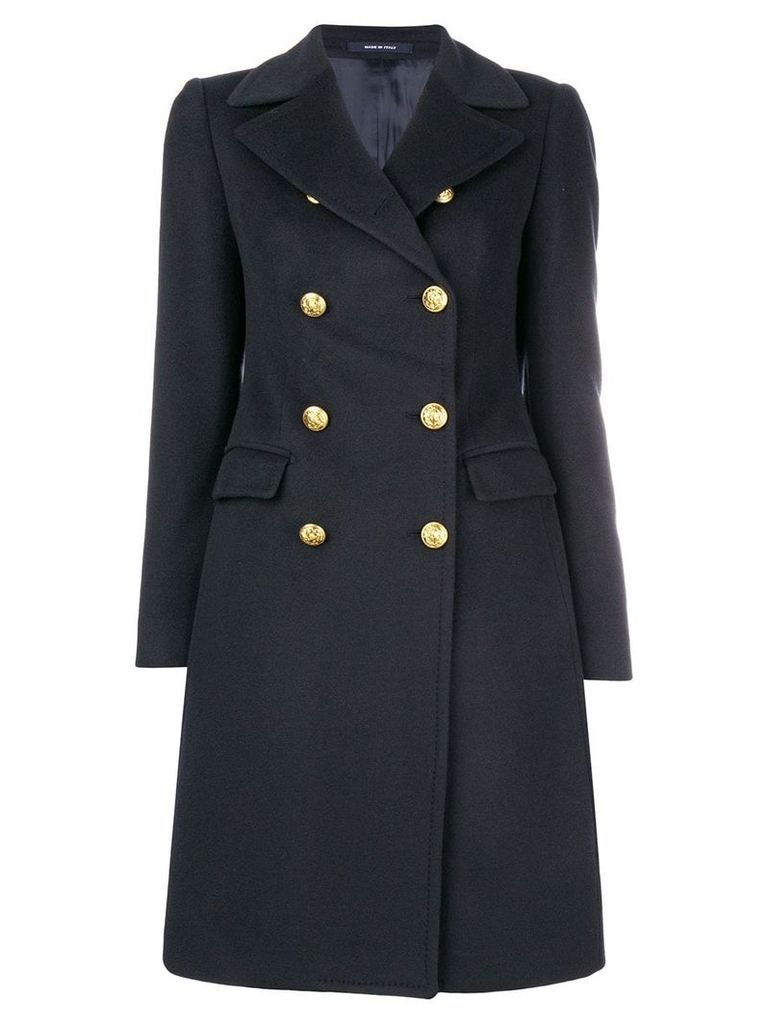 Tagliatore naval-inspired coat - Blue