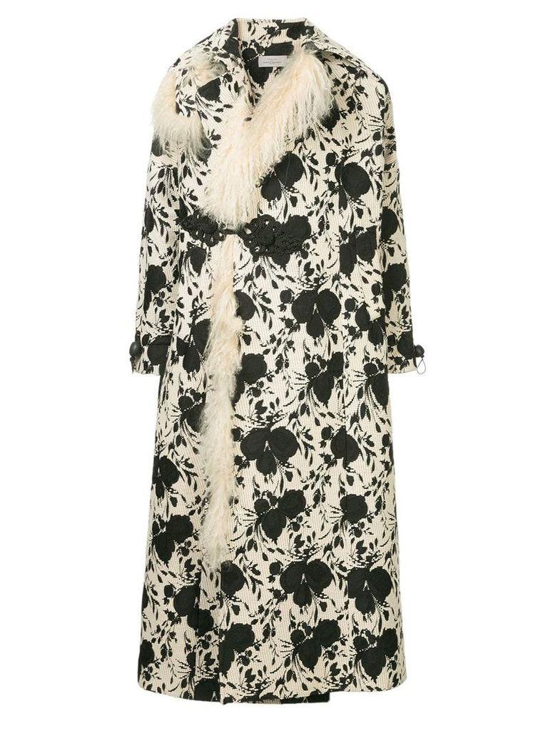 Preen By Thornton Bregazzi Liza floral oversize coat - Multicolour