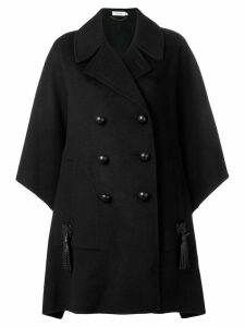 Coach oversized double breasted coat - Black