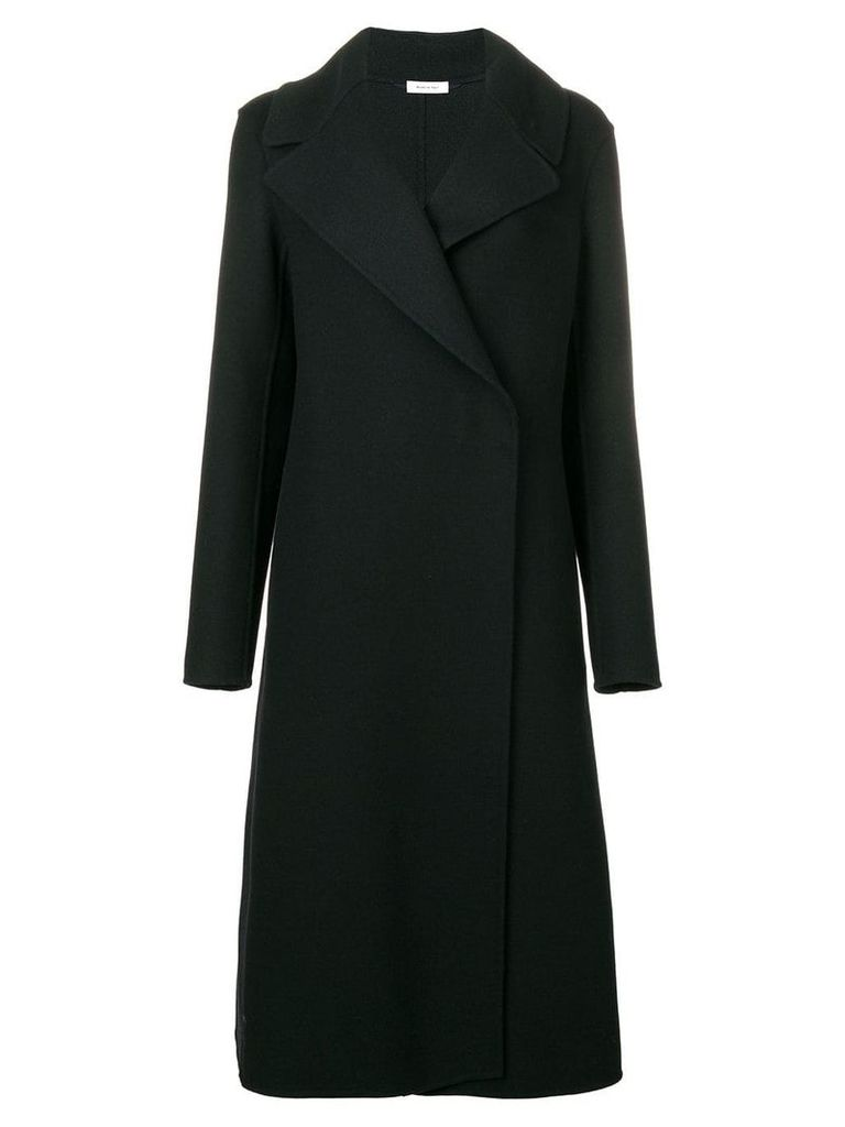 Jil Sander wrap long coat - Blue