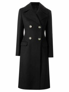 Helmut Lang tailored melton coat - Black