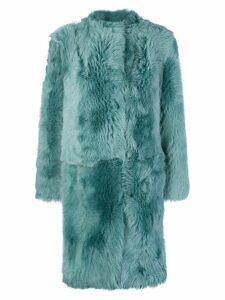 Desa 1972 oversized fur coat - Green