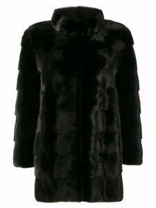 Cara Mila Mila classic coat - Black