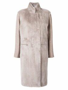 Liska cashmere blend coat - Neutrals