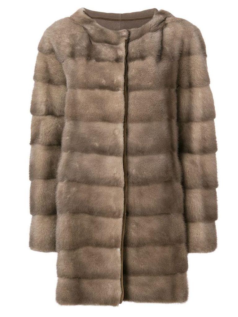 Liska padded coat - Grey