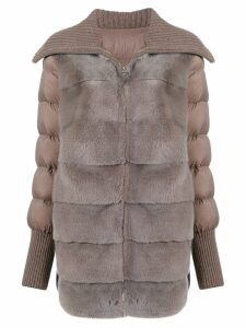 Liska padded coat - Grey