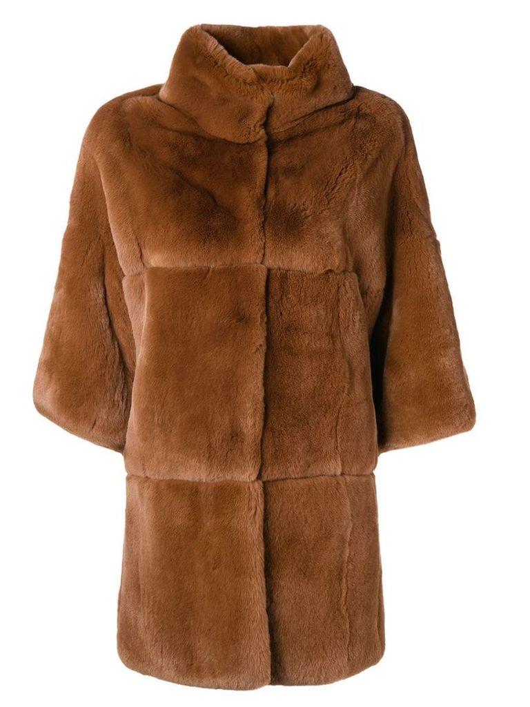 S.W.O.R.D 6.6.44 oversized coat - Brown