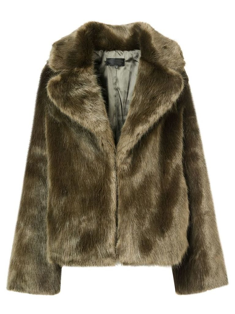 Nili Lotan faux fur coat - Green