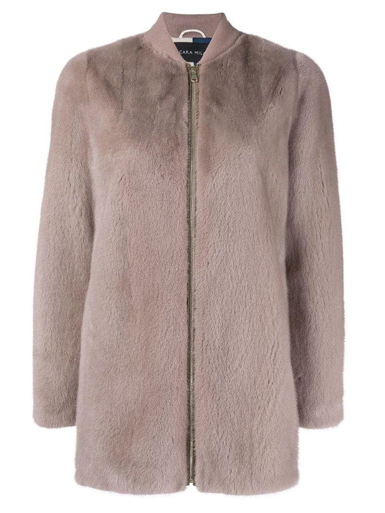 Cara Mila Rosa coat - Neutrals