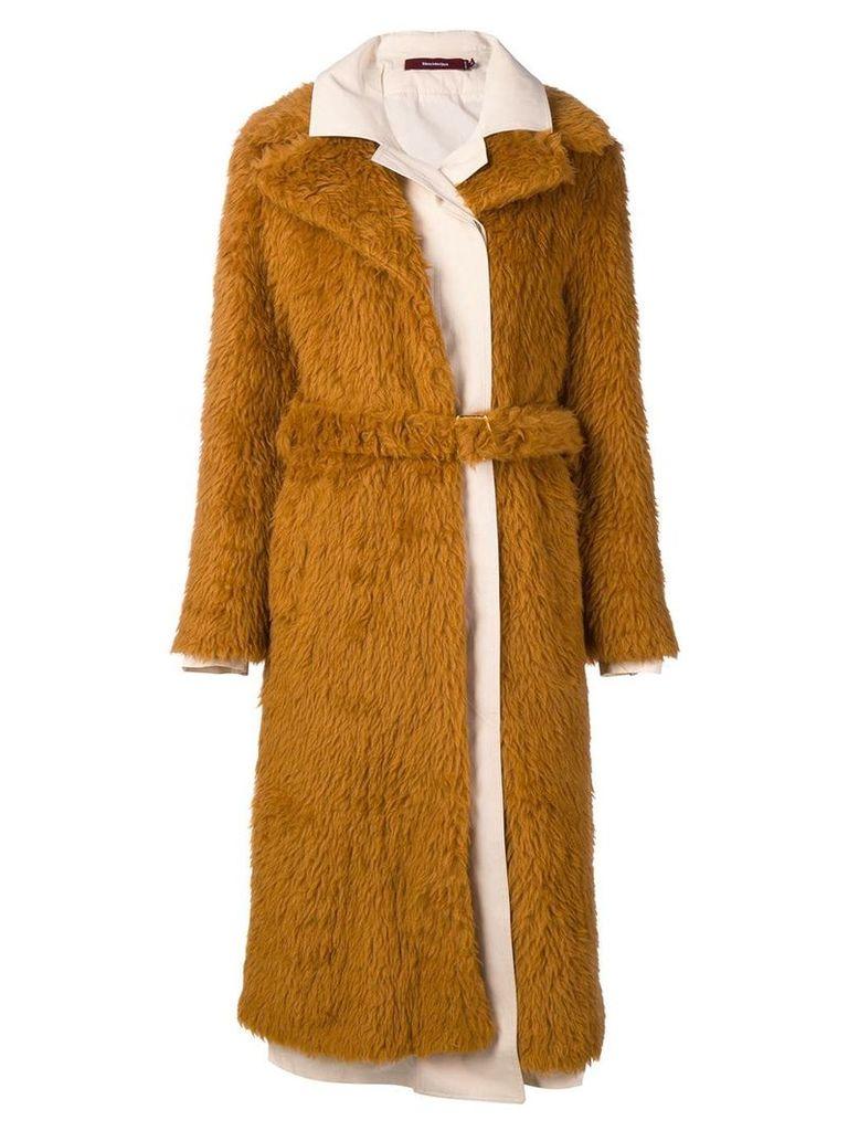 Sies Marjan long coat - Brown
