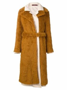 Sies Marjan long coat - Brown