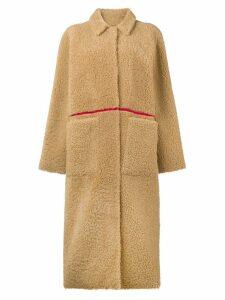 Inès & Maréchal shearling coat - Neutrals