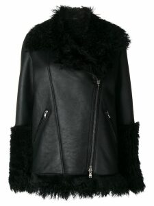 Giada Benincasa shearling coat - Black