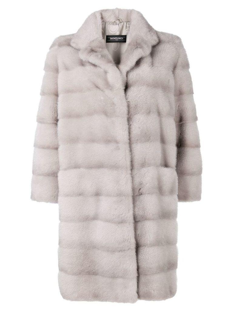 Simonetta Ravizza Annie coat - Grey