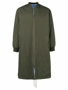Liska long padded coat - Green