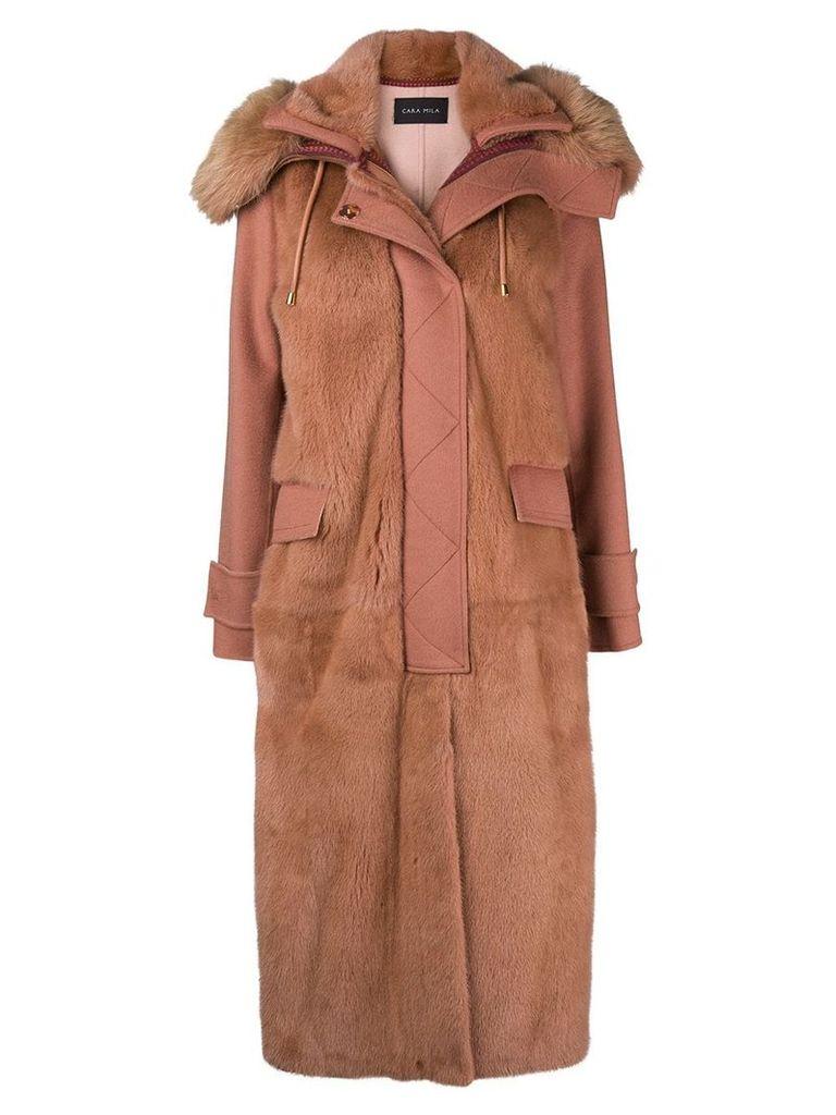 Cara Mila Audrey coat - Pink