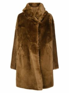 Sylvie Schimmel oversized coat - Brown