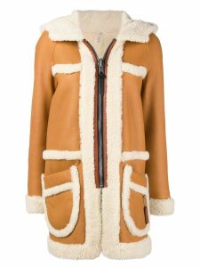 Coach shearling coat - Brown
