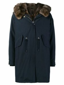 Liska lined hooded parka - Blue