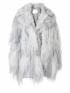 Drome oversized fur coat - Grey