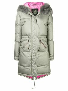 Mr & Mrs Italy oversized loose padded coat - Grey