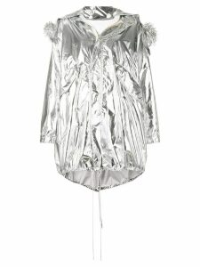 Mm6 Maison Margiela oversized parka - Grey