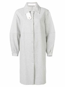 See By Chloé oversized shirt coat - Grey