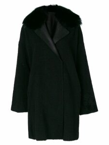 Guy Laroche oversized coat - Black