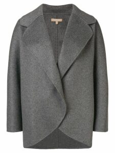 Michael Kors Collection oversized short coat - Grey