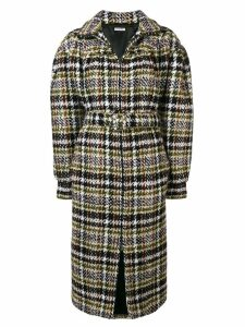 Miu Miu oversized tweed coat - Green
