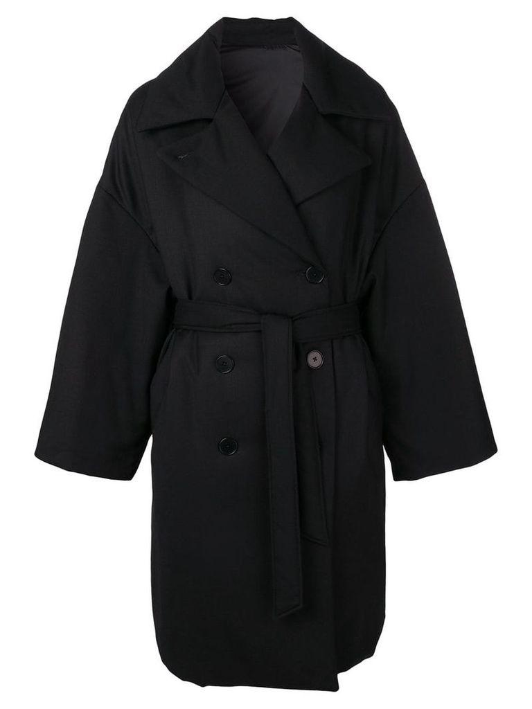 Barena oversized trenchcoat - Black