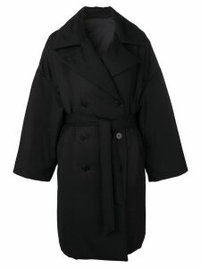 Barena oversized trenchcoat - Black