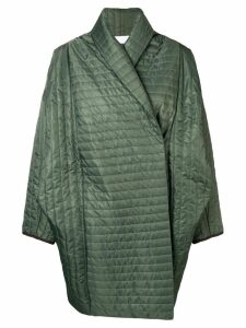 Reality Studio oversized padded coat - Green