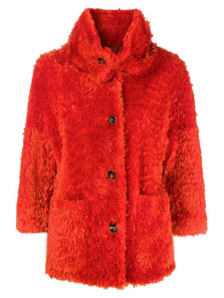 Desa 1972 short coat - Yellow