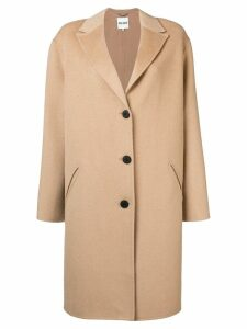 Kenzo single breasted coat - Neutrals
