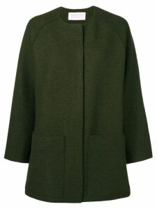 Harris Wharf London single breasted coat - Green
