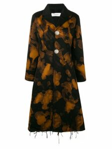 Marques'Almeida sponge bleached coat - Brown