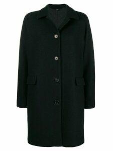 Aspesi single-breasted coat - Black