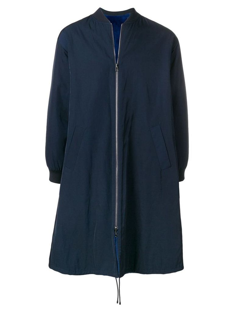 Liska reversible bomber coat - Blue