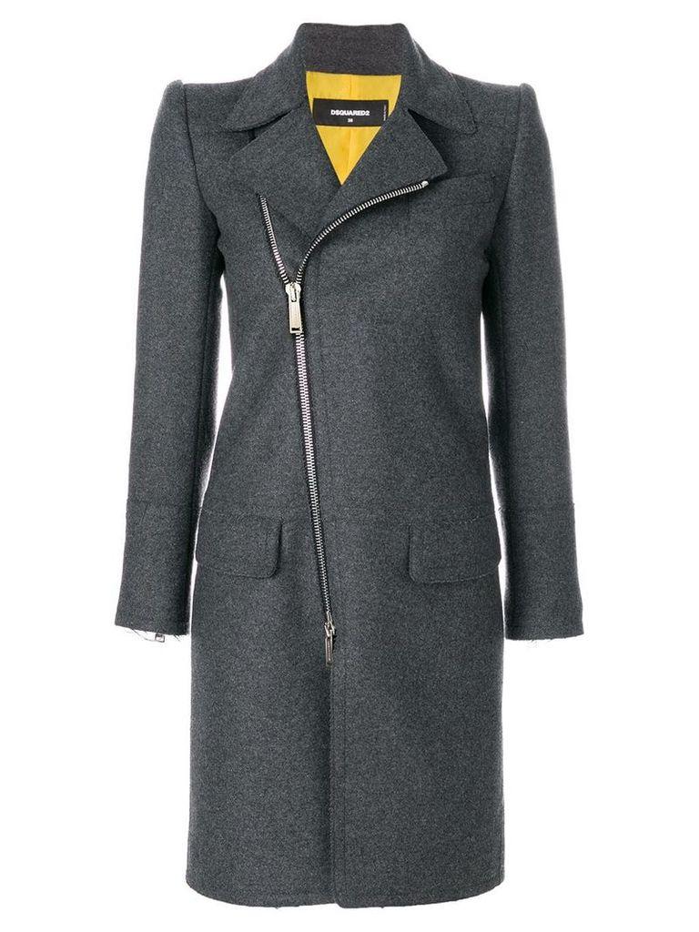 Dsquared2 zipped coat - Grey