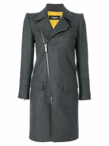 Dsquared2 zipped coat - Grey
