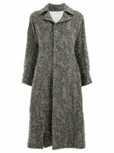 Renli Su single breasted coat - Grey