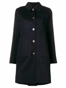 Carven tailored coat - Blue