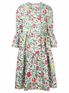 La Doublej floral coat - Green