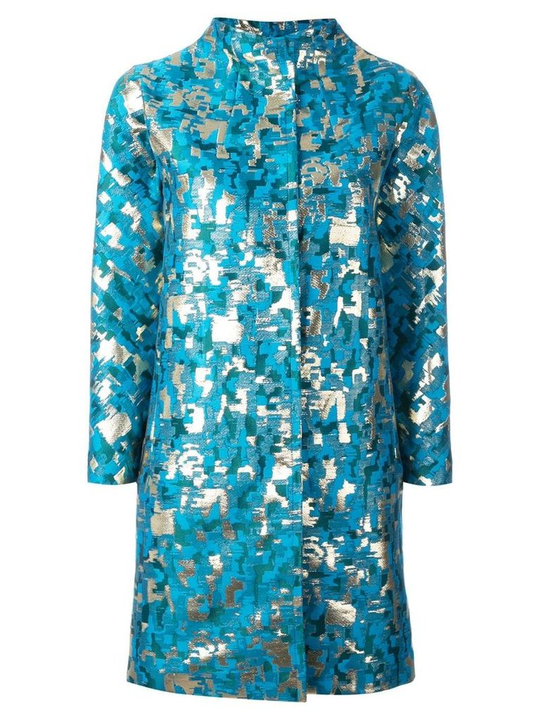Gianluca Capannolo Lea coat - Blue