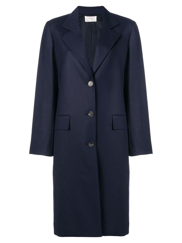 The Row single breasted coat - Blue